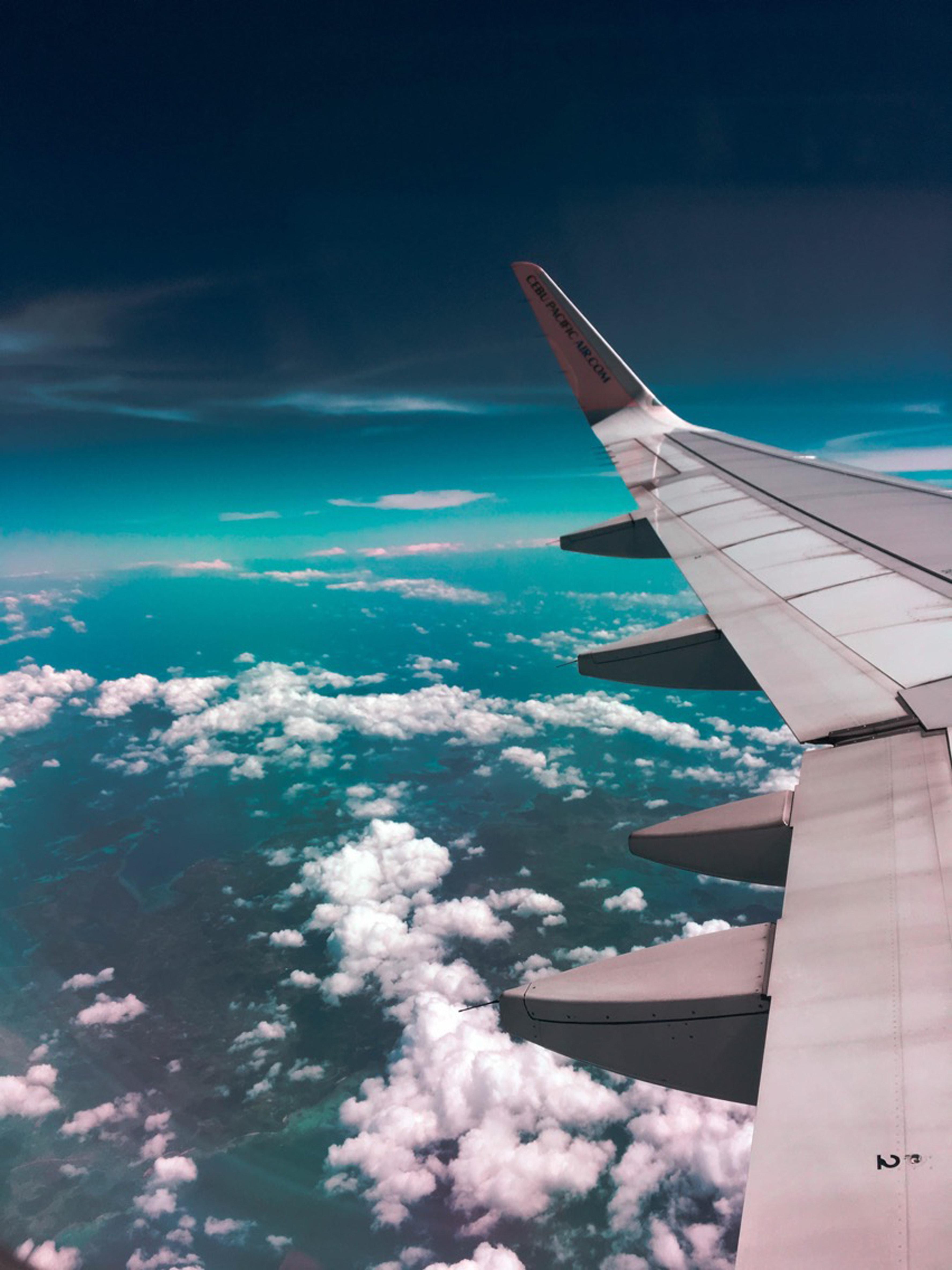 travel croatian coast plane
