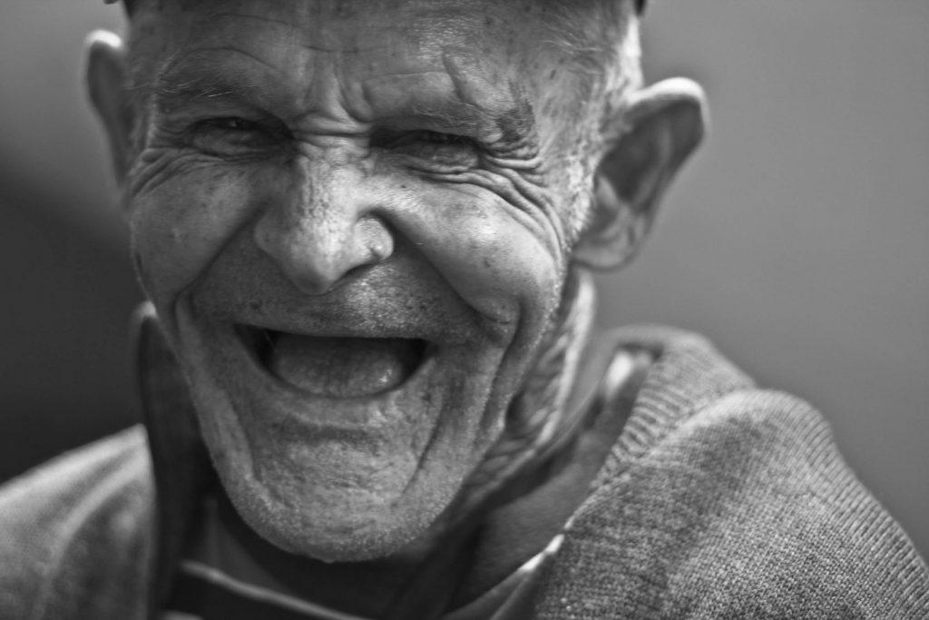 laugh better  person